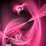 Abstract background. White - pink palette.