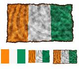 Flag of Cote d'Ivoire