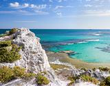 Coast at rottnest island