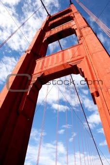 Gold Gate Bridge Detail