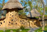 exotic earthen house
