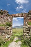 ruined doorway