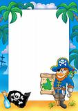 Frame with pirate 2
