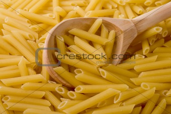 raw italian macaroni