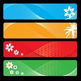 Season banner for your design