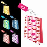 Shopping bags collection for your design