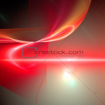 Abstract background. Orange - red palette.