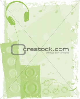 Green Musical Background