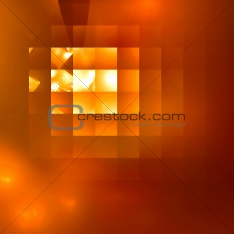 Abstract background. Yellow - orange palette.