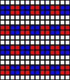 vibrant cubes pattern