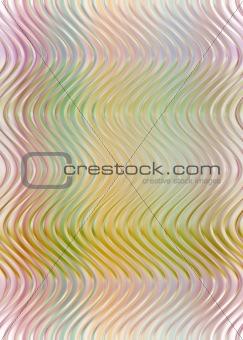transparent waves pattern