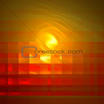 Abstract background. Yellow - red palette.