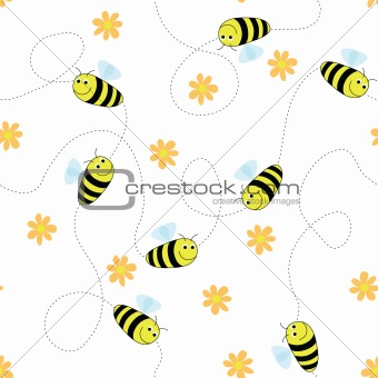 Happy bees