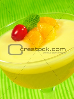Layered Lemon Gelatin