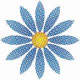 Halftone Flower