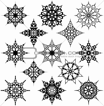 Various Ornate Design Elements