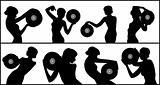 vinyl dancing