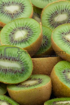 Food Kiwi Fruit slices.