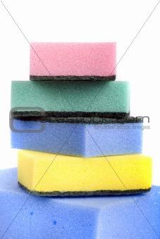 Bath sponges