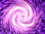 A purple solar system
