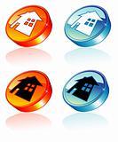 Home Concept 3D button