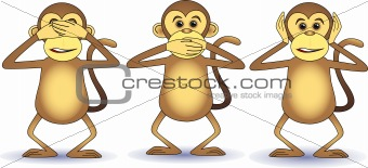 Three wishes monkey