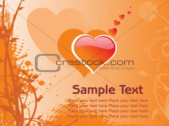 abstract romantic vallentine text