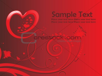 abstract design card illustration text
