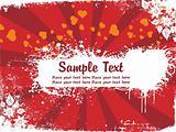 abstract valentine background banner