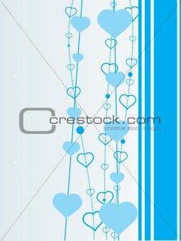 skyblue background illustration