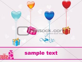 beautiful heart-shape gift