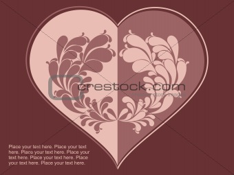 abstract choclate color love background