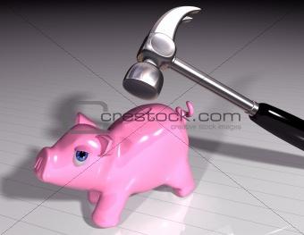Smash the piggy