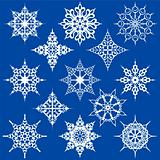Various Ornate Snowflakes