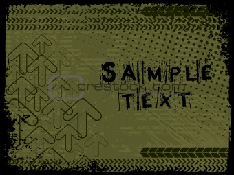 abstract grunge with arrows, vector design23