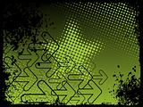 abstract grunge with arrows, vector design36