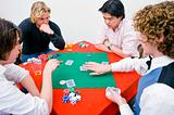 Private poker game