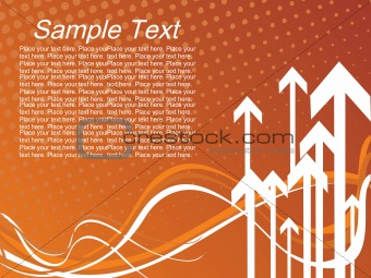 background with arrow, hightech vector26
