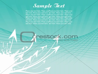 background with arrow, hightech vector27