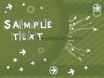 background with arrow, hightech vector28