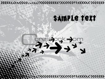 background with arrow, hightech vector30