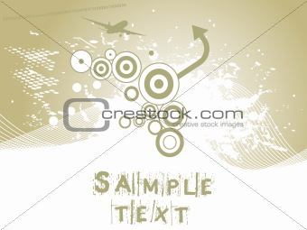 background with arrow, hightech vector32