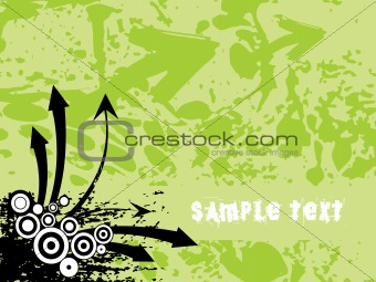 background with arrow, hightech vector35