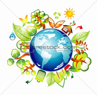 Environment Earth Icon