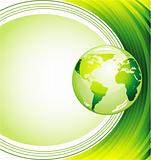 Ecology Green Background