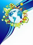 World Concept Background