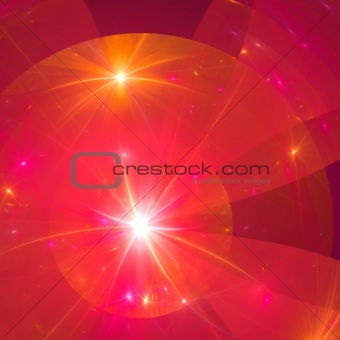 Abstract background. Orange - pink palette.