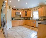 Wide Angle of Modern Kitchen
