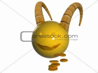 Capricorn, sign of zodiac