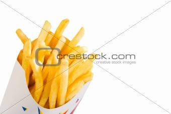 french fries (full shot)